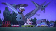 SSG 1-Luna Girl rides the giant moth