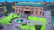 Catboy and the Pogo Dozer Card