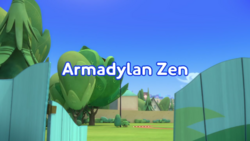 Armadylan Zen Title Card