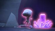 Luna goes to Motsuki's crystal