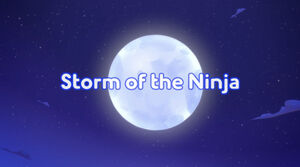 Storm of the Ninja title card