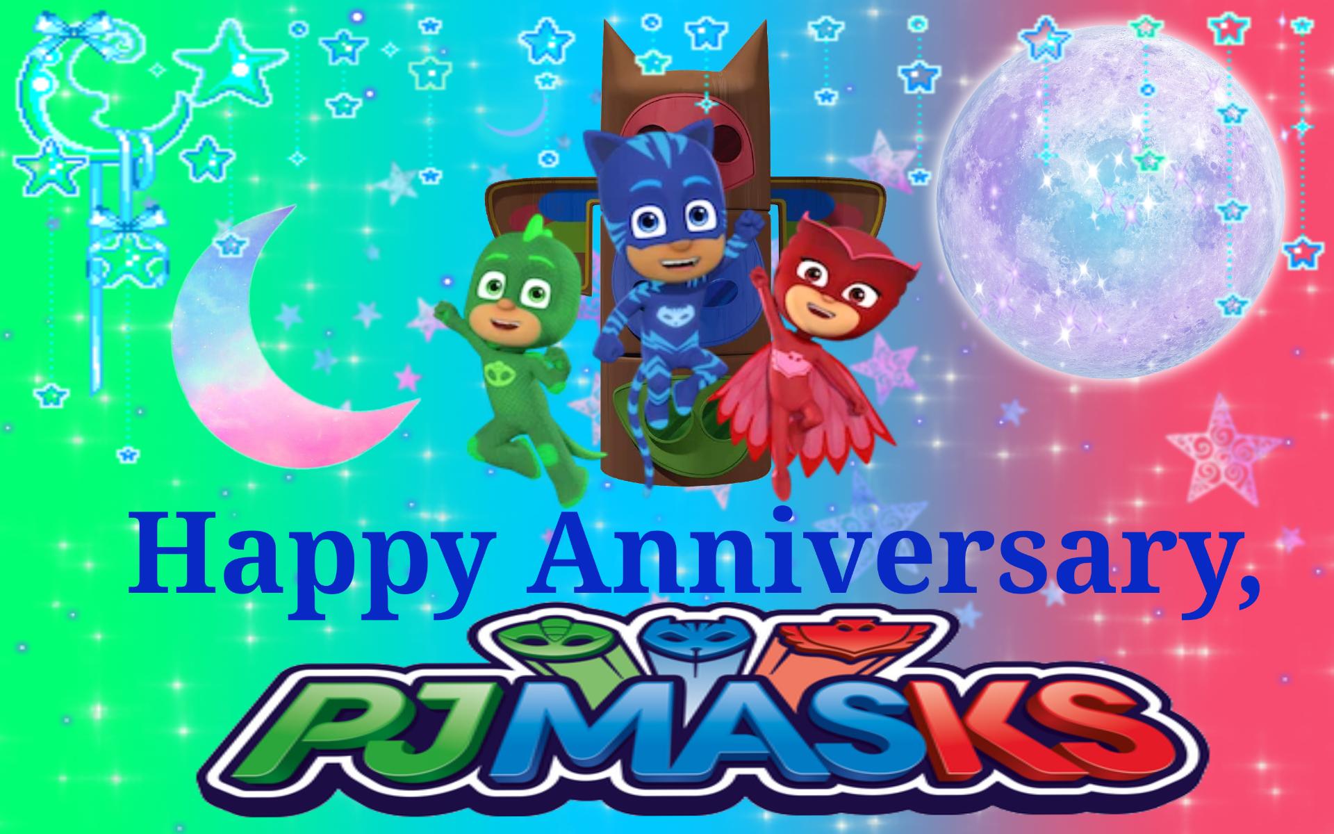 Happy Anniversary, PJ Masks!