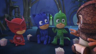 The Pj Masks have enjoyed the movie