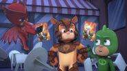 Owlette and Gekko help Armadylan film his movie