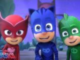 Training with the PJ Masks