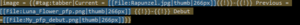 Tab code