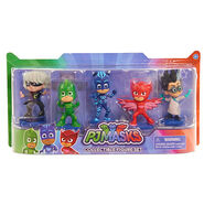 Collectible Figure Set (Luna Girl, Gekko, Catboy, Owlette, Romeo)