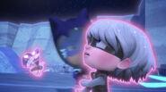 Catboy saves Luna Girl and Mothzuki