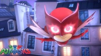Short 3 Owl Eyes PJ Masks Disney Junior-0