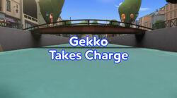 Gekko Takes Charge title card