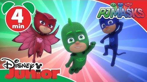 PJ Masks Time To Be A Hero Disney Junior UK