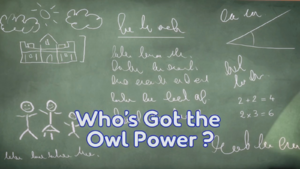 Who's Got the Owl Power card