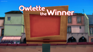 Owlette the Winner Card