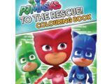 PJ Masks To the Rescue! Colouring Book