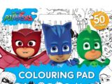 PJ Masks: Giant Colouring Pad