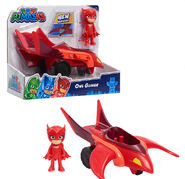 Owlette + Upgraded Owl-Glider toy