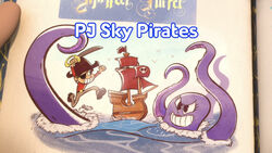 PJ Sky Pirates title card