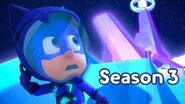 PJ Masks Season 3 💜NEW Catboy Goes to the Moon 💜Season 3 Episode 2 Clip PJ Masks Official