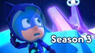 PJ Masks Season 3 💜NEW Catboy Goes to the Moon 💜Season 3 Episode 2 Clip PJ Masks Official
