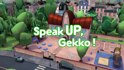 Speak Up Gekko Card