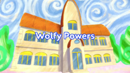 Wolfy Powers title card