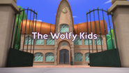 The Wolfy Kids Title Card