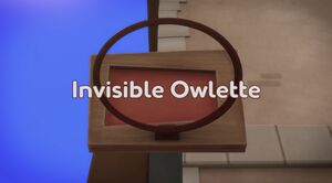 Invisible Owlette title card