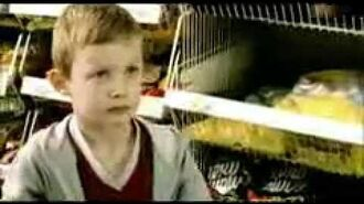 Angry Kid In Supermarket - Funny Commercial
