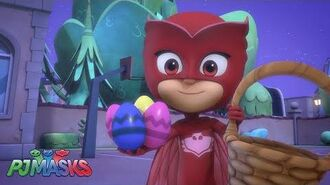 Easter with the Wolfies! PJ Masks Disney Junior