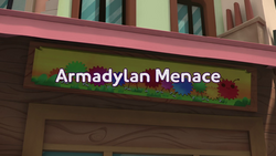 Armadylan Menace Title Card