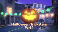 Halloween Tricksters Part 1 Title Card