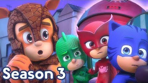 PJ Masks Season 3 💜NEW Armadylan and Robette 💜Season 3 Episode 3 Clip PJ Masks Official