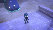 Night Ninja gets ready to face off Catboy 01