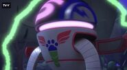 PJ Robot resisting Romeo's control