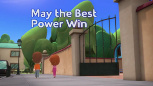 May the Best Power Win title card