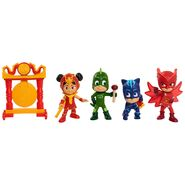 Dragon Gong, An Yu, Gekko, Catboy and Owlette toy figures