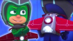 Catboy, Owlette and Gekko Travel to Space 🌑 PJ Masks Official