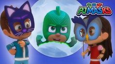 PJ Masks Song 🎵HALLOWEEN 🎵Sing along with the PJ Masks! 🎃HD Superhero Cartoons for Kids
