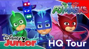 PJ Masks Welcome To PJ Masks HQ! ✨ Disney Junior UK
