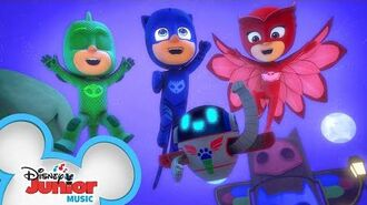 The PJ Masks are Here Music Video PJ Masks Disney Junior