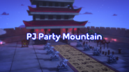 PJ Party Mountain Title Card