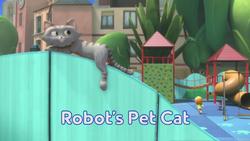 Robot's Pet Cat title card