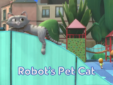 Robot's Pet Cat