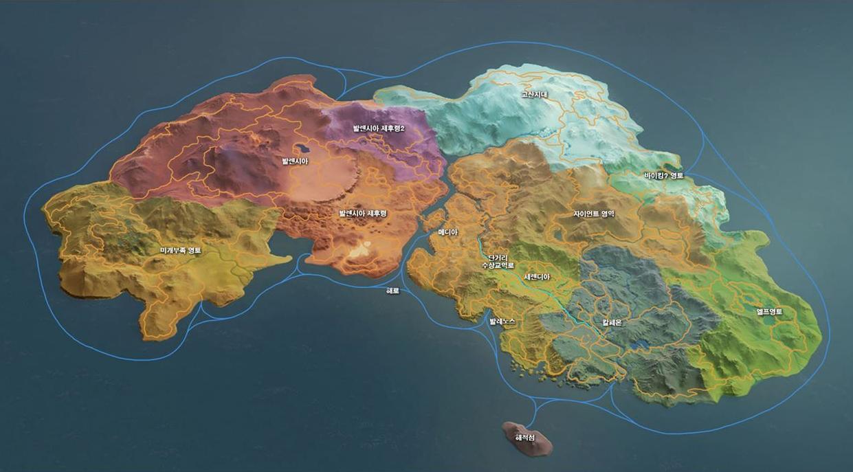 Black Desert World Map Locations | Penguin Knights BDO Wikia | Fandom