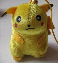 Bellplush pikachu