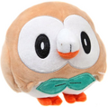 WCT 8inch Plush Rowlet Front