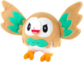 WCT 8inch Plush Rowlet Wings Front