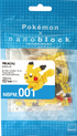 Nanoblock Pikachu Packaging