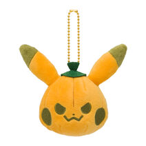HalloweenGalarGarden PikachuPumpkinMascotPlush