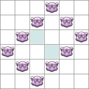 Great Challenge - Granbull (Winking)